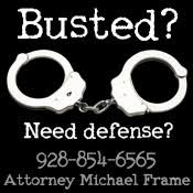 For Law Attorney in Lake Havasu City, call Michael Frame